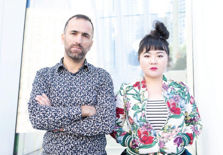 Composer Du Yun & Video Artist Jarrar Khaled, photo credit by Zhen Qin