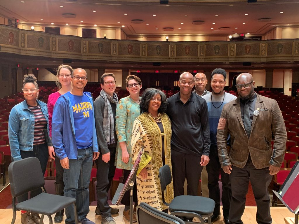 Group Picture of DSO Earshot New Music Reading Participants