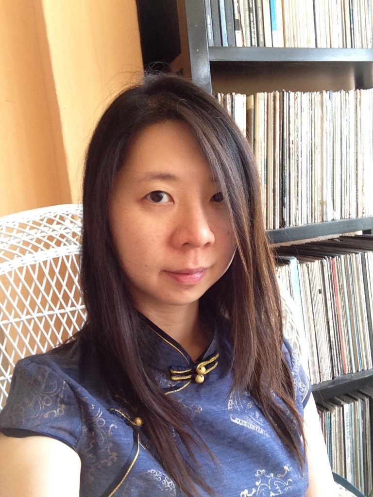 Headshot of American Composer Chen-Hui Jen