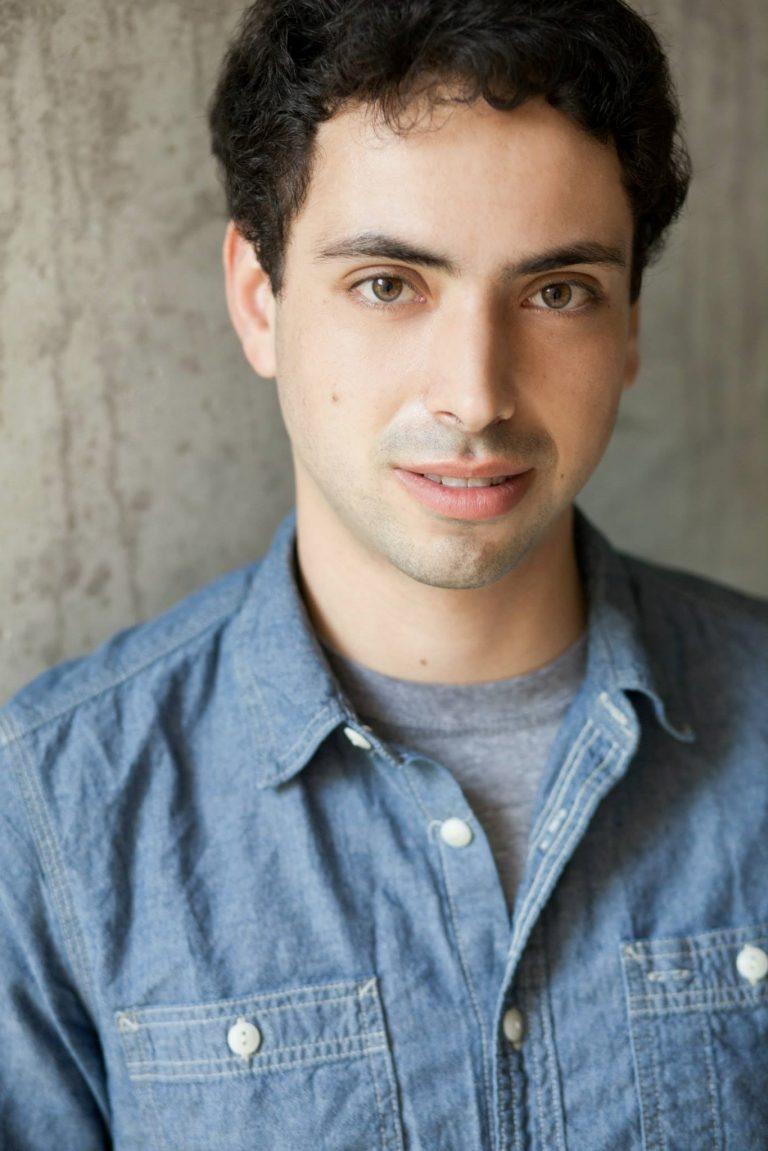 Headshot of composer Aaron Israel Levin, photo credit Eric Snoza