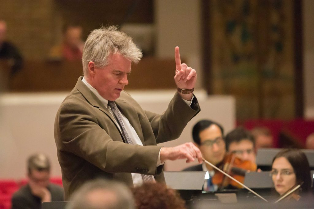 Andrew Constantine conducts the Fort Wayne Philharmonic at the American Composer Orchestra's 2018 Earshot New Music Reading