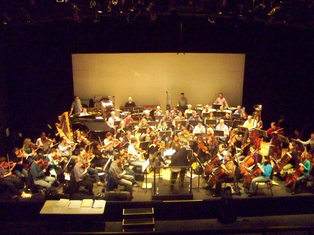 The Pioneer Valley Symphony Orchestra reads New Music by American composers