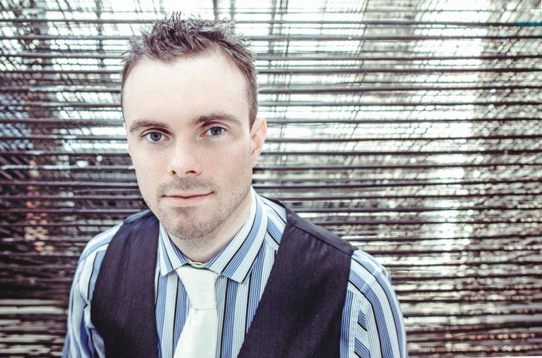 Headshot of American Composer Andrew McManus