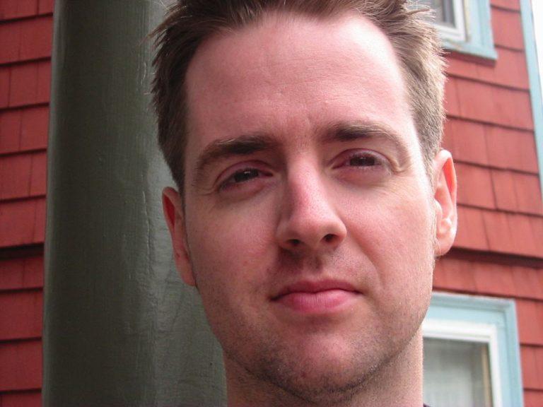 Headshot of American Composer AJ McCaffrey